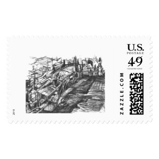 An empire in decadence stamps