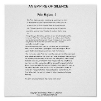 An Empire of Silence Page One Poster
