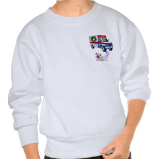 An EMS Christmas Gifts Pullover Sweatshirts