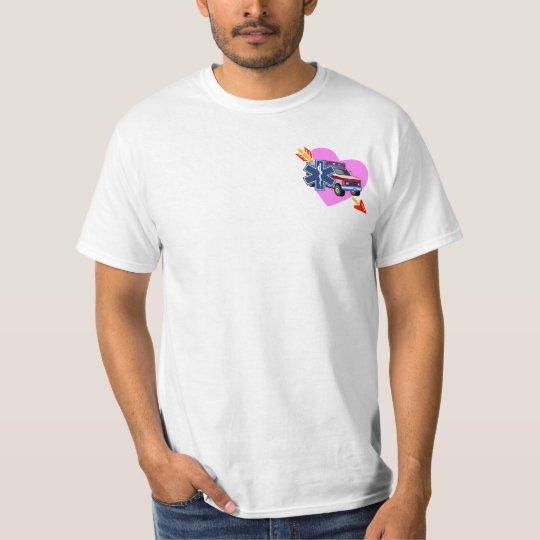 An EMS Heart of Care T-Shirt