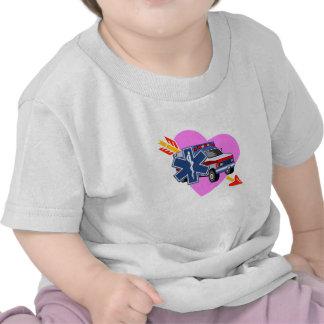 An EMS Heart of Care Tee Shirt