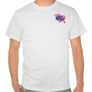 An EMS Heart of Care Tshirt