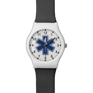 An EMS Star of Life Watch
