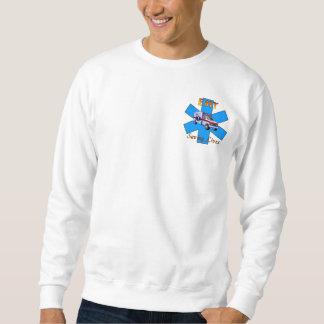 An EMT Saving Lives Sweatshirt
