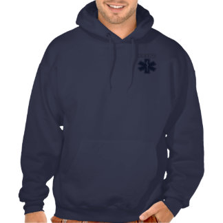 An EMT Star of Life Pullover