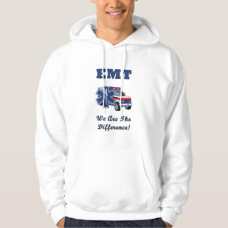An EMT We Are The Difference Hooded Pullover