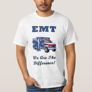 An EMT We Are The Difference Shirt