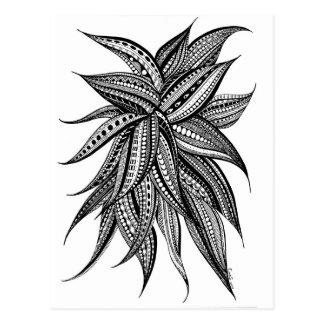An enchanting flower: Dahlia Postcard