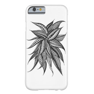 An enchanting patterned flower barely there iPhone 6 case