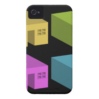 An enclosed space with openings iPhone 4 cover