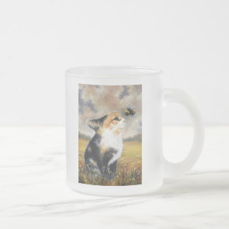 An Encounter Frosted Glass Coffee Mug