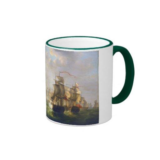 An Engagement off Boulogne Mug