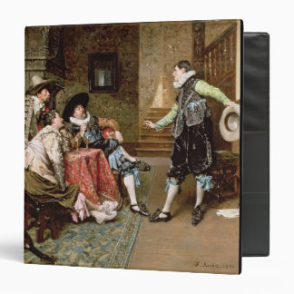 An Engaging Tale 1894 oil on panel Binder