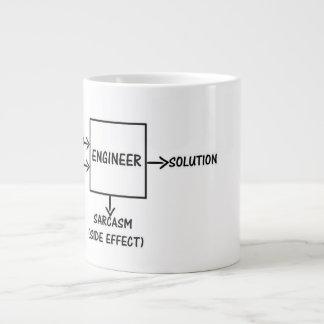 An Engineers Process Large Coffee Mug