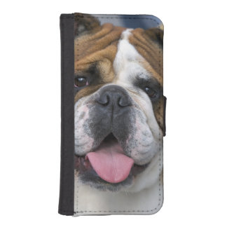 An english bulldog in Belgium. Wallet Phone Case For iPhone SE/5/5s
