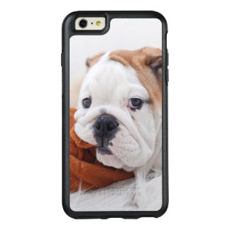 An English Bulldog Puppy Playing With A Bulldog OtterBox iPhone 6/6s Plus Case