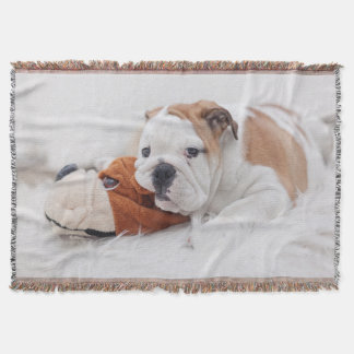 english bulldog blanket english bulldog throw blankets zazzle 4014