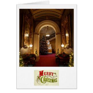 An English Christmas. Card
