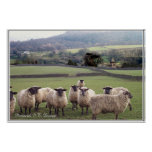 An English Country Scene Posters