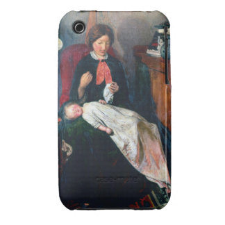An English Fireside of 1854-5 iPhone 3 Case-Mate Case