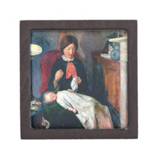 An English Fireside of 1854-5 Keepsake Box