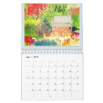 An English Garden 2019 Calendar by Artist