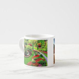 An English Garden Espresso mug 6 Oz Ceramic Espresso Cup