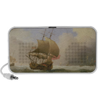 An English Ship Close-hauled in a Strong Breeze PC Speakers
