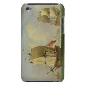 An English Sloop and a Frigate in a Light Breeze ( Barely There iPod Cover
