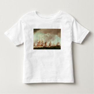 An English Vice-Admiral of  Red and his Toddler T-shirt