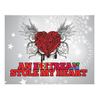 An Eritrean Stole my Heart Custom Flyer