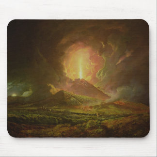 An Eruption of Vesuvius, seen from Portici Mousepads