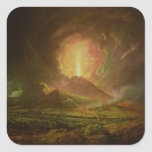 An Eruption of Vesuvius, seen from Portici Stickers