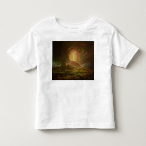An Eruption of Vesuvius, seen from Portici Toddler T-shirt