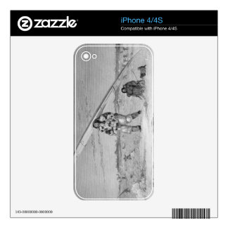 An Eskimaux of Igloolik, wearing a bird-skin jacke iPhone 4S Decals