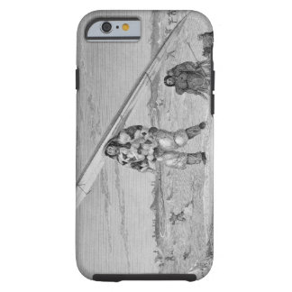 An Eskimaux of Igloolik, wearing a bird-skin jacke Tough iPhone 6 Case