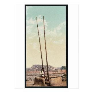 "An ""Estufa"", Pueblo of Taos, N.M. classic Photochr Postcard"