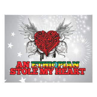 An Ethiopian Stole my Heart Full Color Flyer