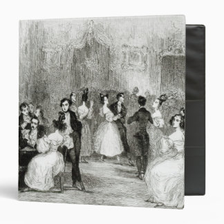 An Evening at the House of Charles Nodier  1831 3 Ring Binder