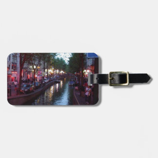 An evening in Amsterdam Bag Tag