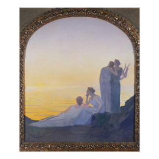 An Evening in Ancient Times, 1908 Poster