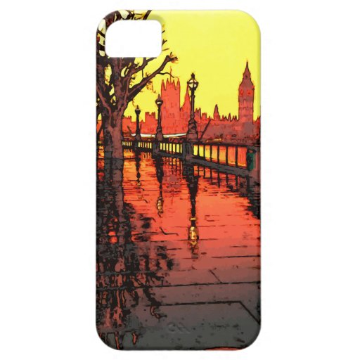 An Evening in London iPhone 5 Covers