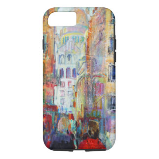 An Evening Walk to Sacre Coeur iPhone 7 Case