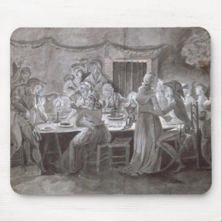 An Evening Wedding Meal Mouse Pad