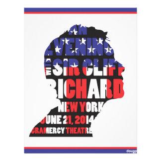 An Evening with Sir Cliff Richard Letterhead
