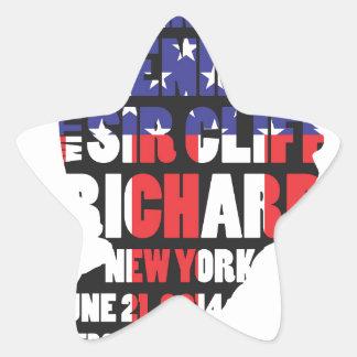 An Evening with Sir Cliff Richard Star Sticker