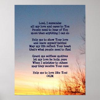 An Everyday Prayer Poster