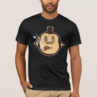 An evil monkey smoking a cigar T-Shirt