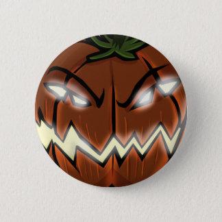 An Evil Pumpkin Button
