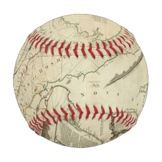 An Exact Chart of the River St Lawrence Baseballs